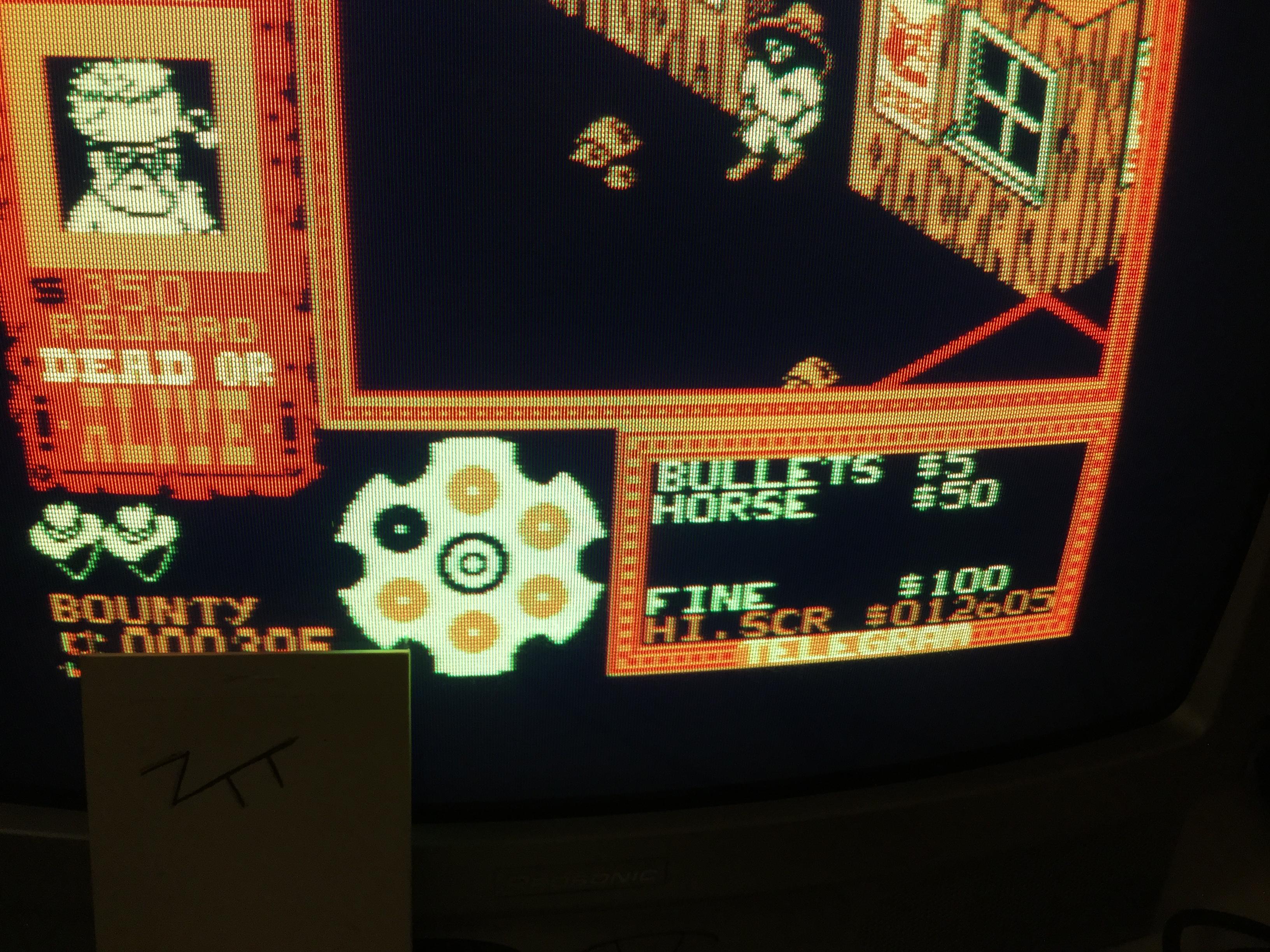 Frankie: Gunfright (Amstrad CPC) 12,605 points on 2017-02-08 11:32:43