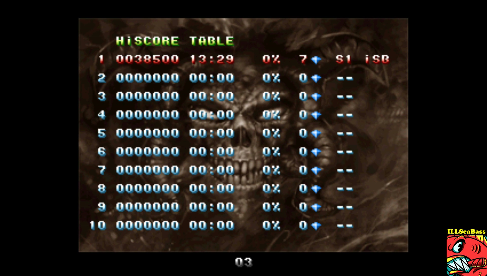 ILLSeaBass: Gunlord (Dreamcast Emulated) 38,500 points on 2017-08-19 23:05:15