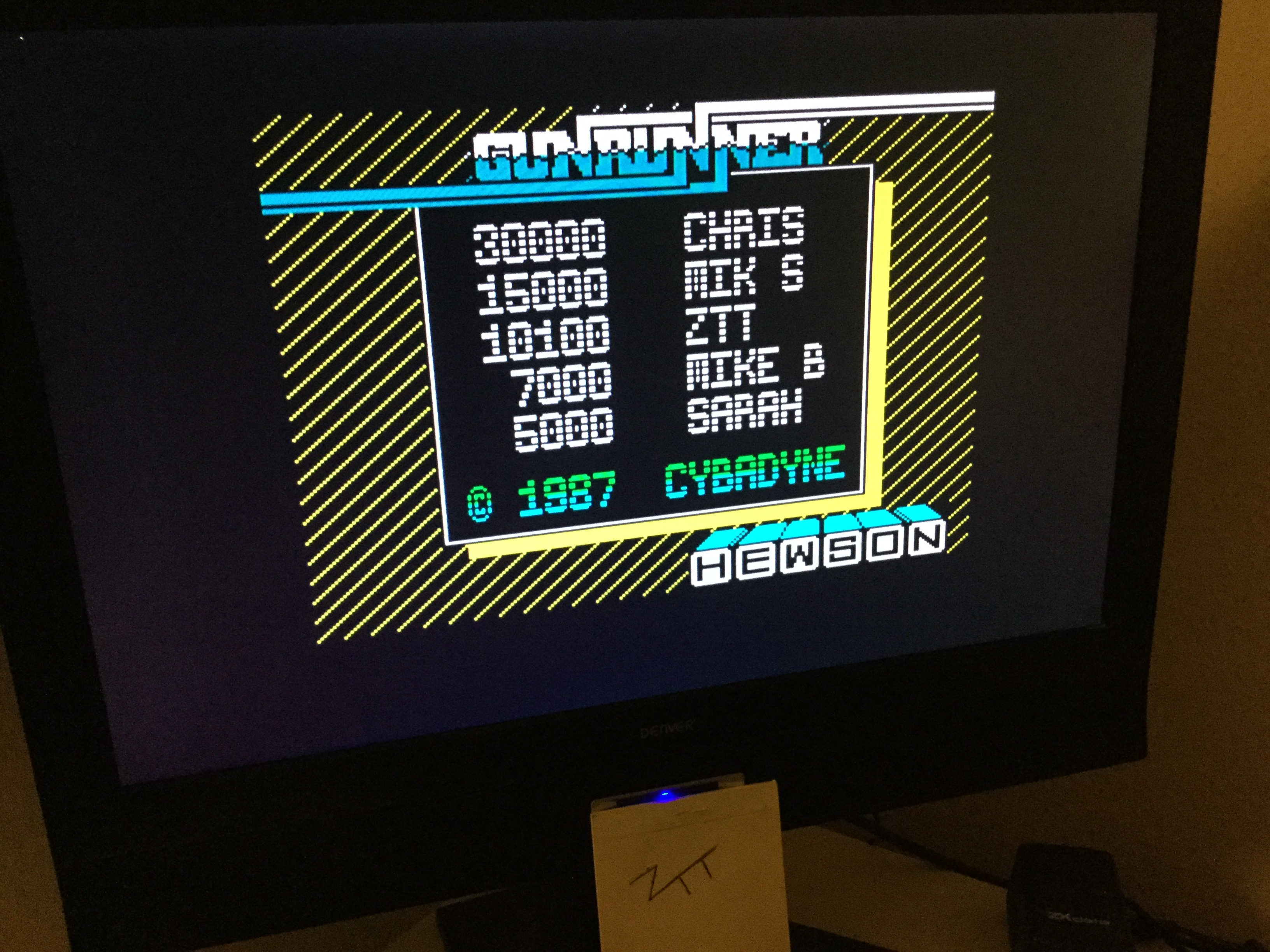 Frankie: Gunrunner (ZX Spectrum) 10,100 points on 2020-03-05 03:13:09