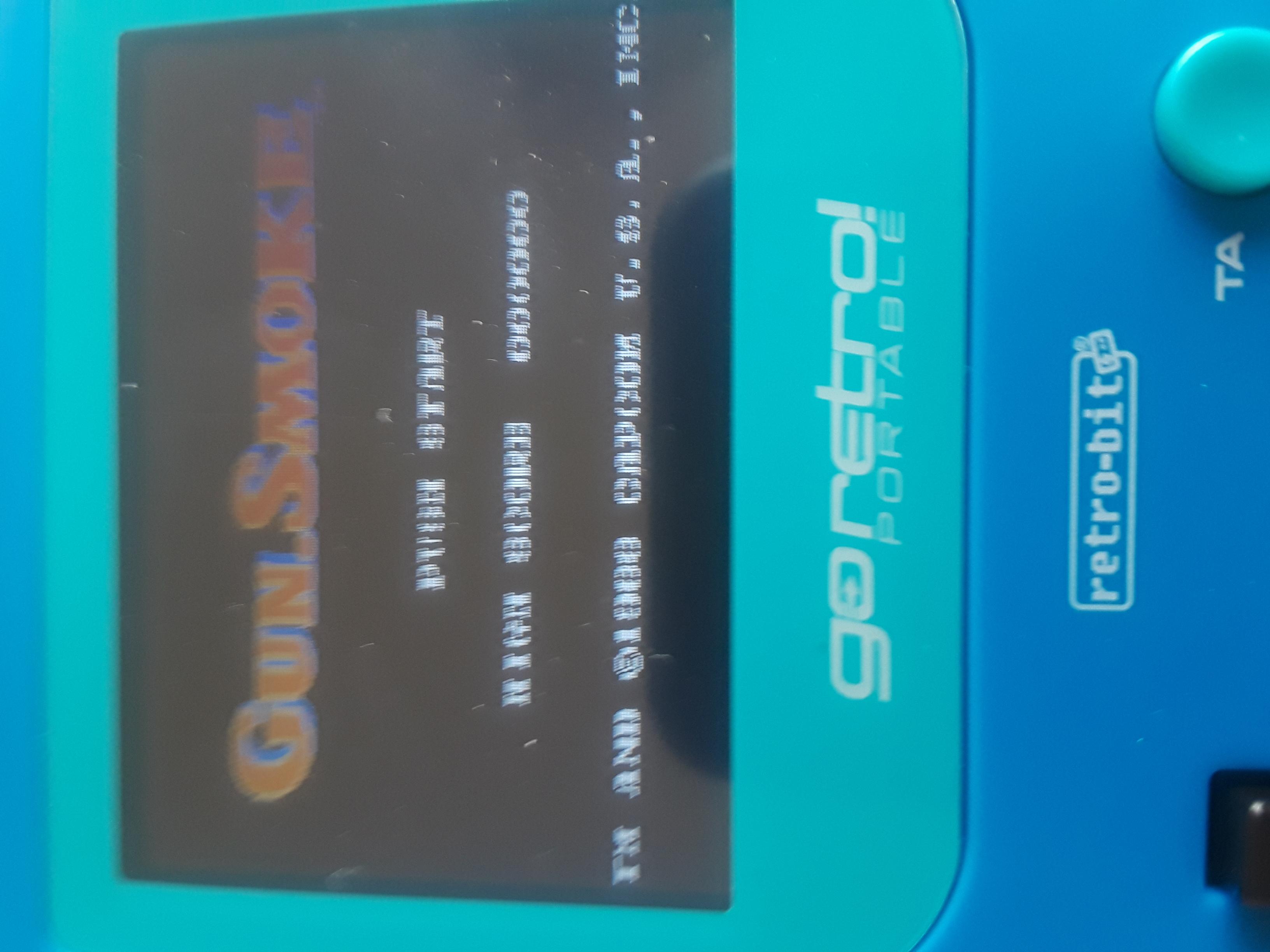 JML101582: Gunsmoke (NES/Famicom Emulated) 5,350 points on 2019-06-03 16:40:29