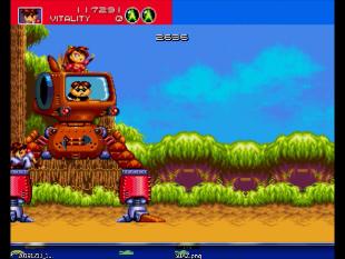S.BAZ: Gunstar Heroes (Sega Genesis / MegaDrive Emulated) 117,291 points on 2020-03-24 01:27:50