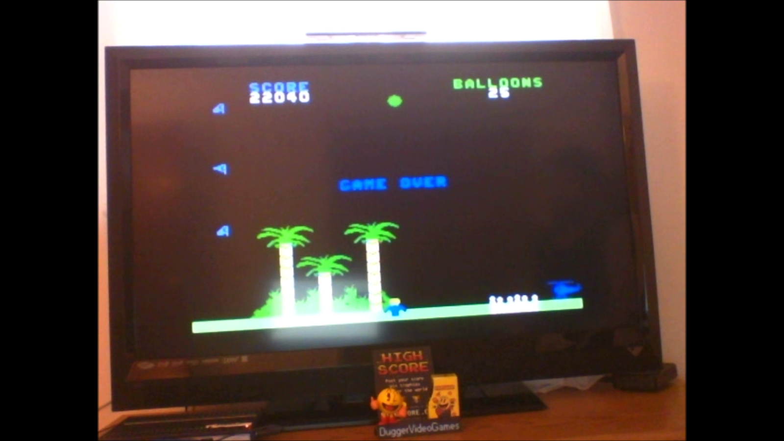 DuggerVideoGames: Gust Buster (Colecovision Flashback) 22,040 points on 2016-12-13 12:31:51