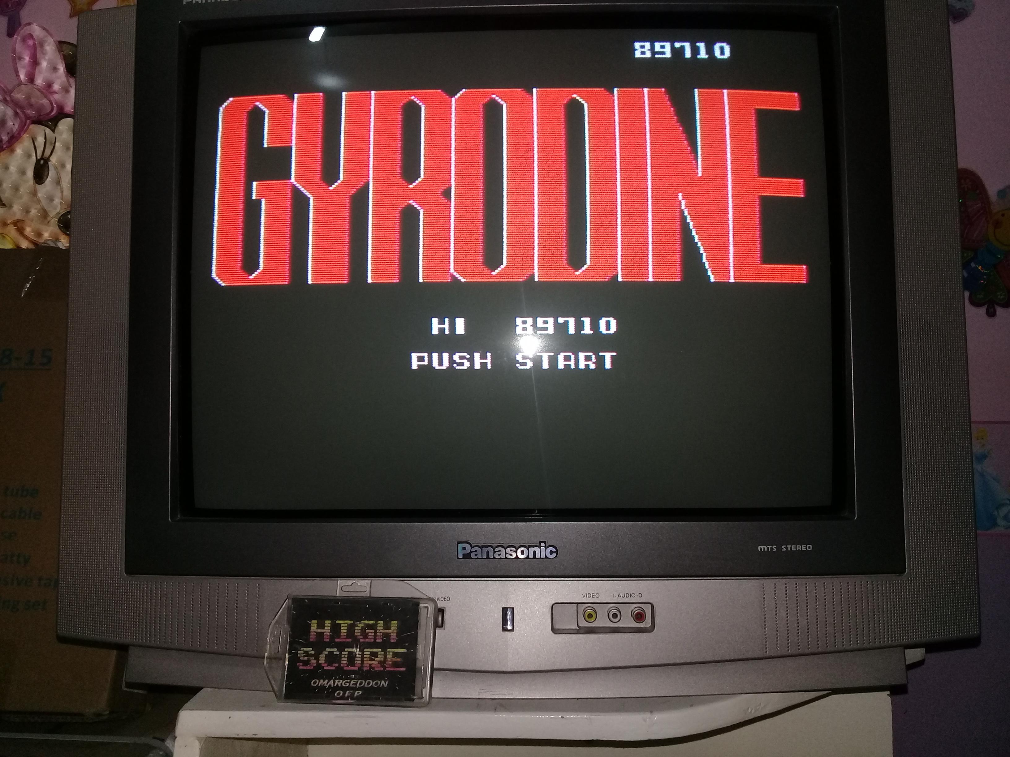 omargeddon: Gyrodine (NES/Famicom) 89,710 points on 2019-03-25 20:51:02