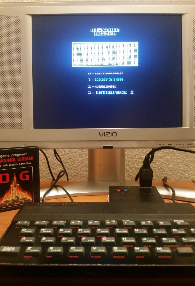 OriginalGamer: Gyroscope (ZX Spectrum) 2,760 points on 2017-12-17 00:53:07