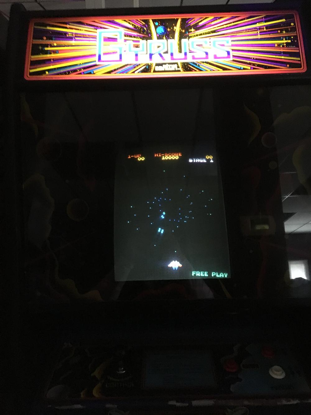 ILLSeaBass: Gyruss (Arcade) 90,400 points on 2017-03-12 18:57:09