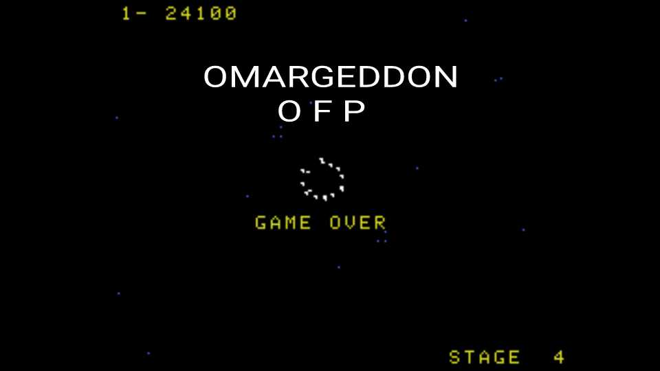 omargeddon: Gyruss (Colecovision Emulated) 24,100 points on 2016-12-14 23:38:06