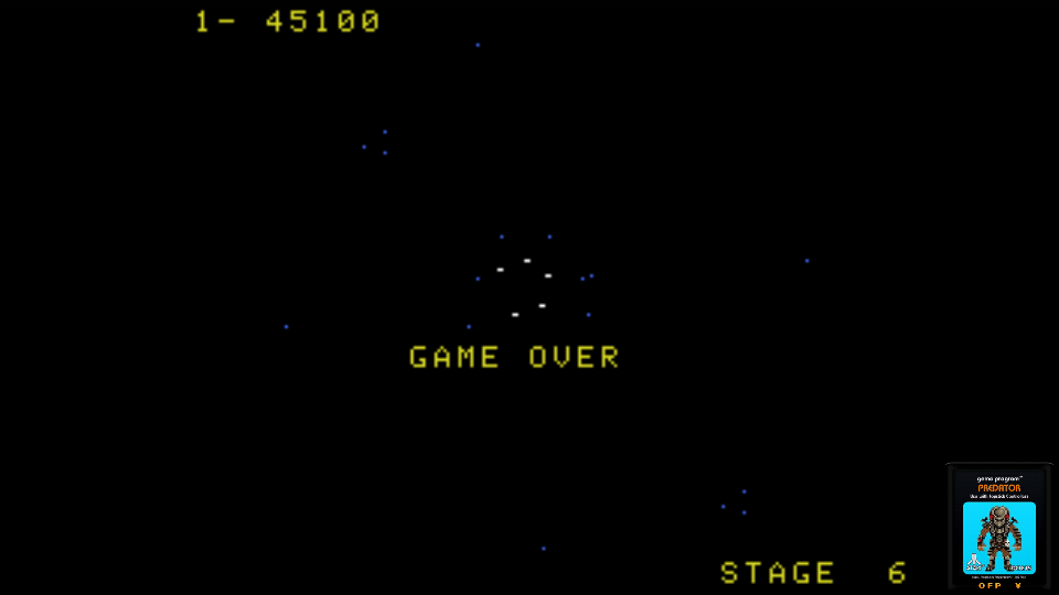 omargeddon: Gyruss (Colecovision Emulated) 45,100 points on 2017-06-25 23:43:52