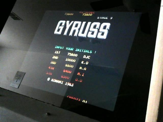 derek: Gyruss (Jamma Pandora