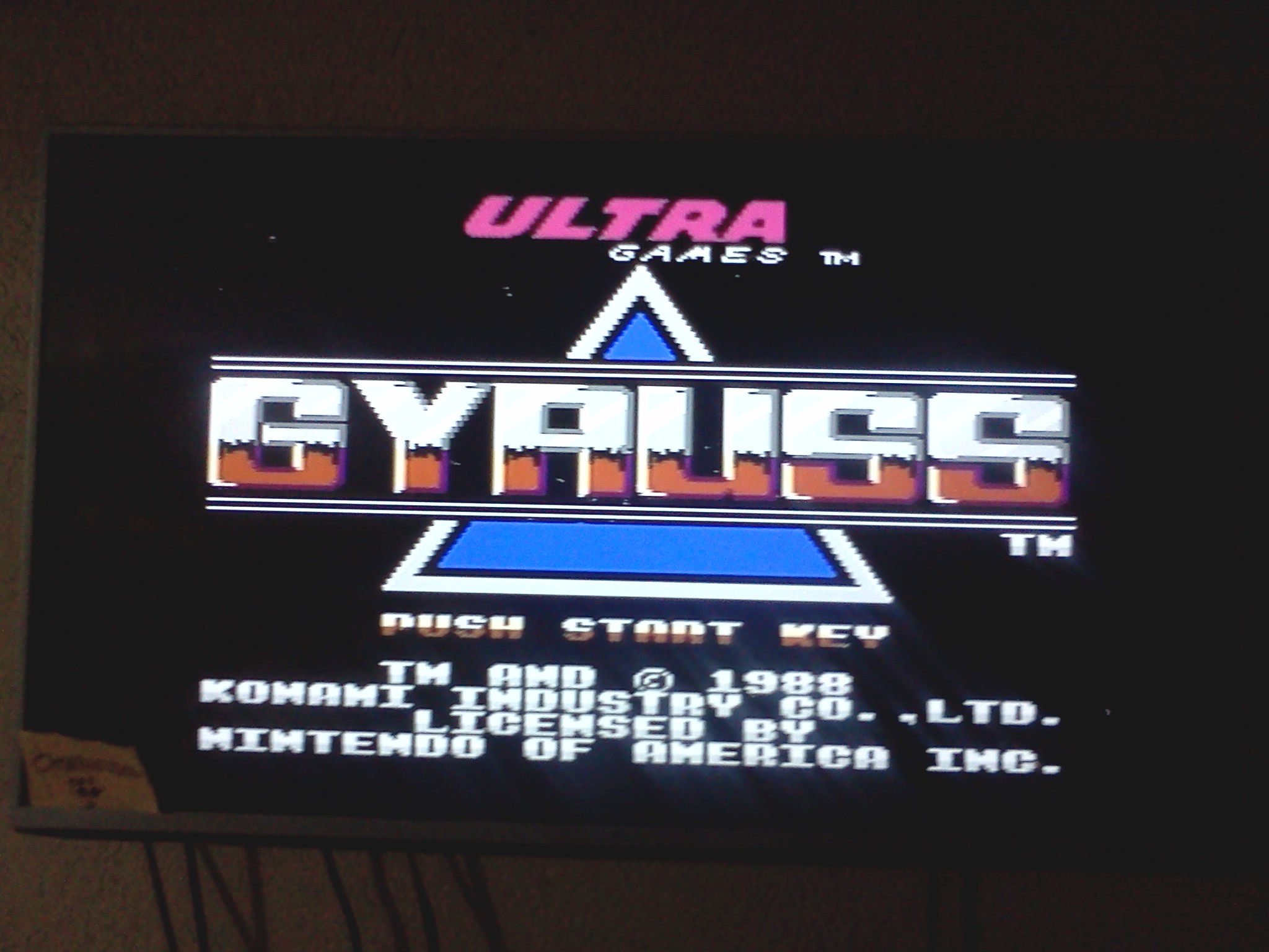 omargeddon: Gyruss (NES/Famicom) 132,600 points on 2016-08-06 22:31:26