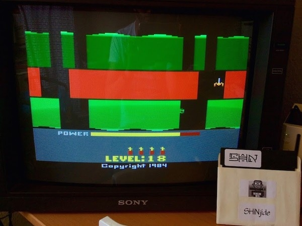 SHiNjide: H.E.R.O.  (Atari 2600 Emulated Novice/B Mode) 144,845 points on 2015-06-20 05:41:03