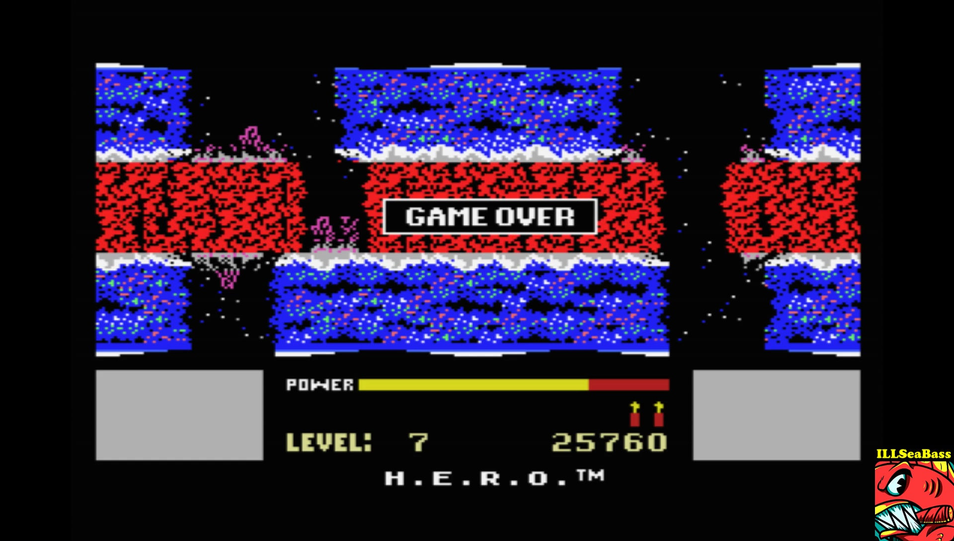 ILLSeaBass: H.E.R.O. [Level 1] (MSX Emulated) 25,760 points on 2017-08-21 13:43:46