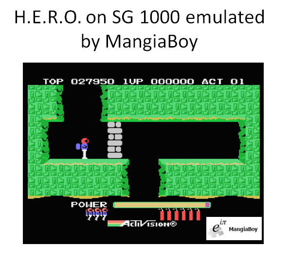 H.E.R.O. [Level 1] 27,950 points