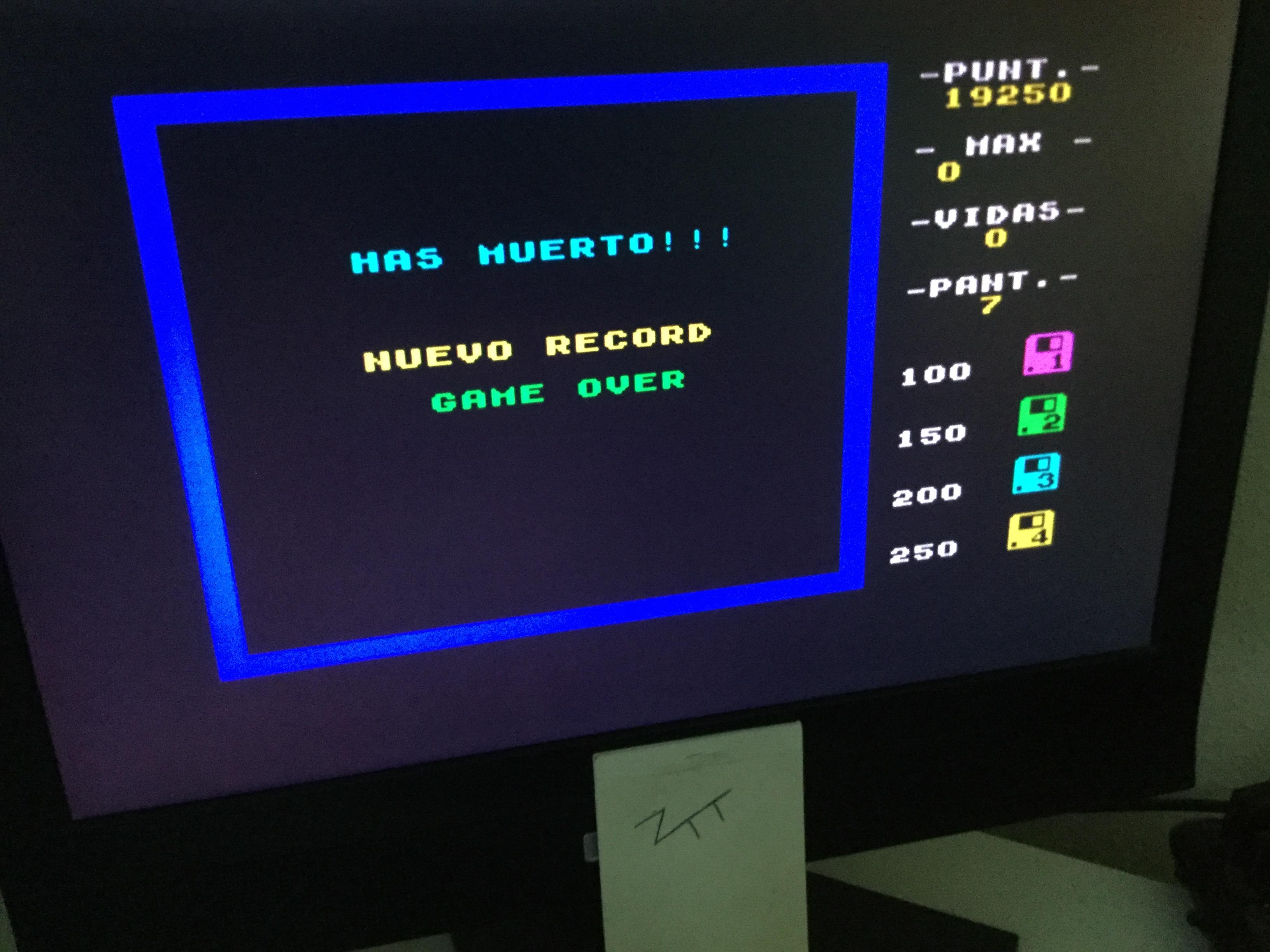 Frankie: Habilit (ZX Spectrum) 19,250 points on 2020-08-06 05:26:23
