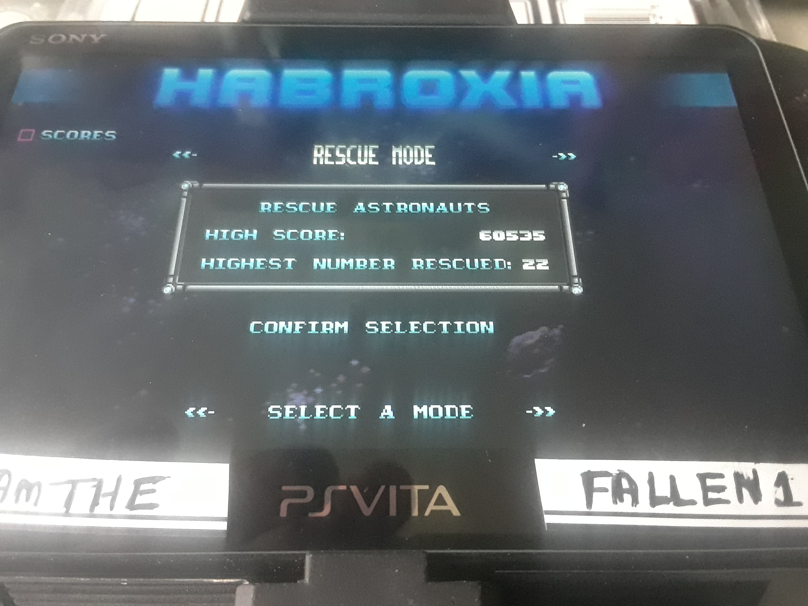 iamthefallen1: Habroxia [Rescue Mode: Score] (PS Vita) 60,535 points on 2019-10-27 13:14:51