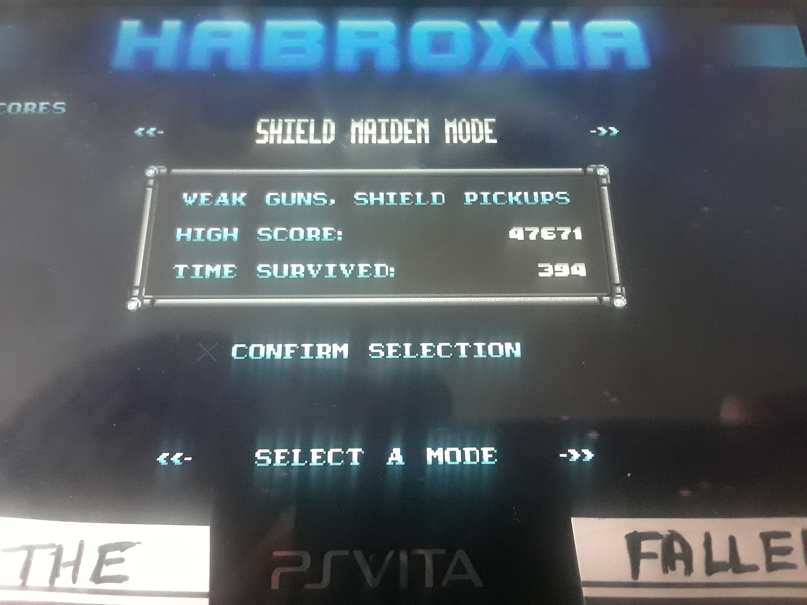 iamthefallen1: Habroxia [Shield Maiden Mode] (PS Vita) 47,671 points on 2019-10-27 13:07:33