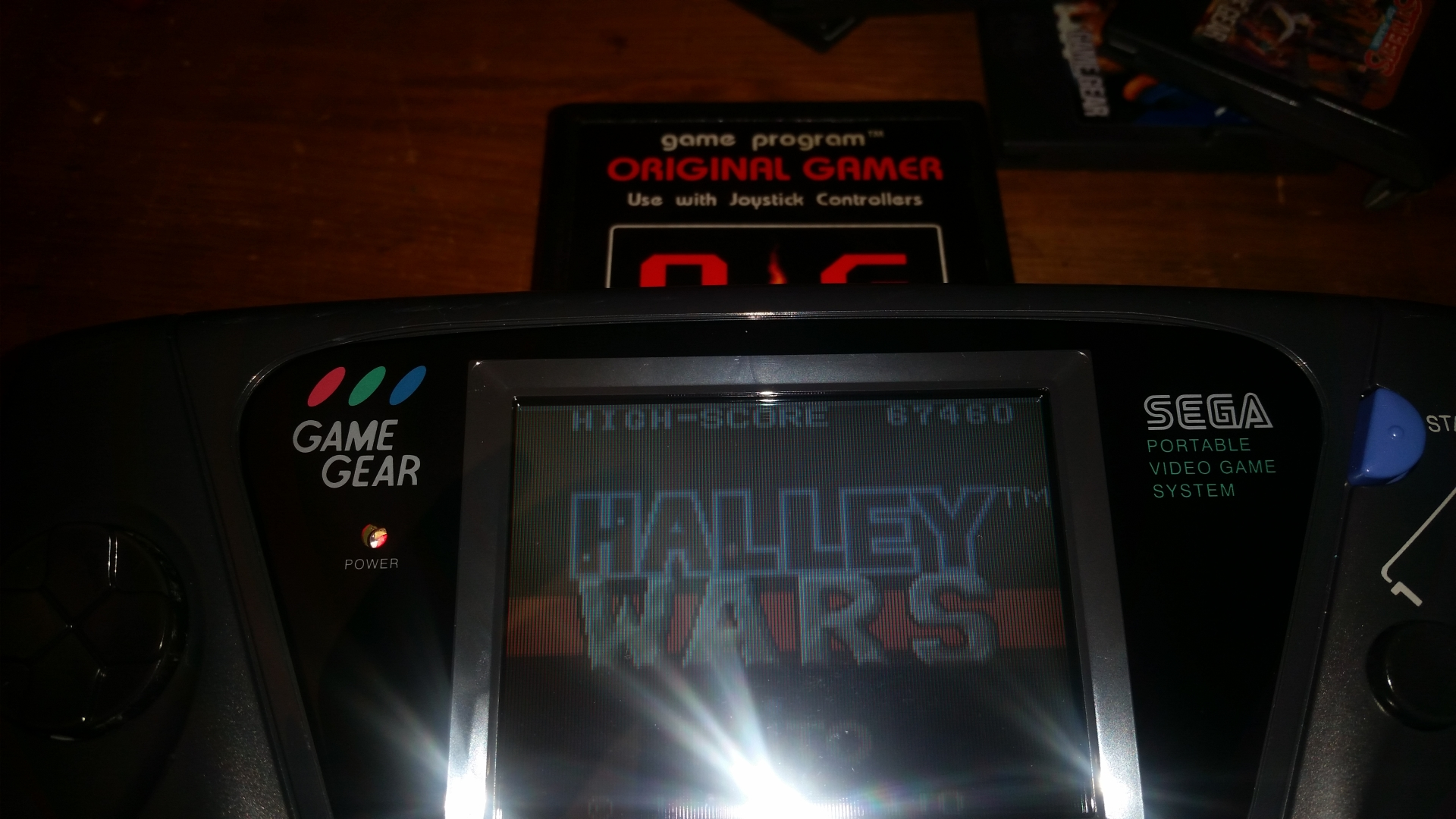OriginalGamer: Halley Wars (Sega Game Gear) 67,460 points on 2018-03-24 21:51:15