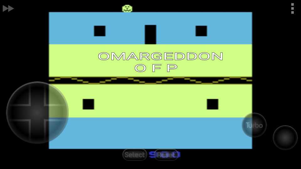 omargeddon: Halloween (Atari 2600 Emulated) 900 points on 2016-10-07 10:55:22