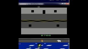 S.BAZ: Halloween (Atari 2600 Emulated) 2,700 points on 2019-11-19 14:51:25