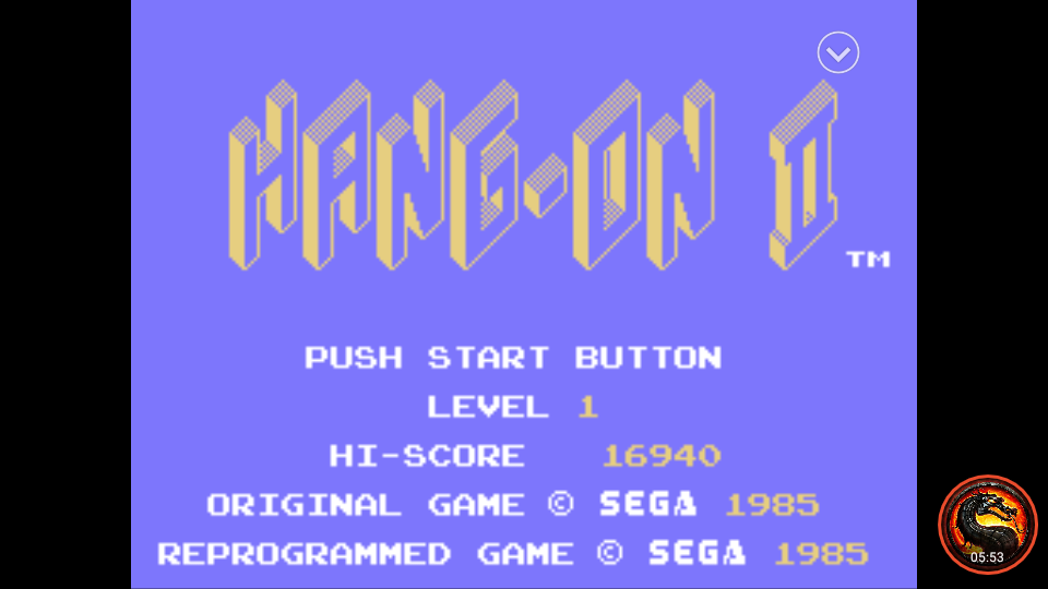 omargeddon: Hang On II [Level 1] (Sega SG-1000 Emulated) 16,940 points on 2020-02-07 22:11:37