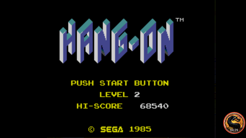Hang On [Level 2] 68,540 points