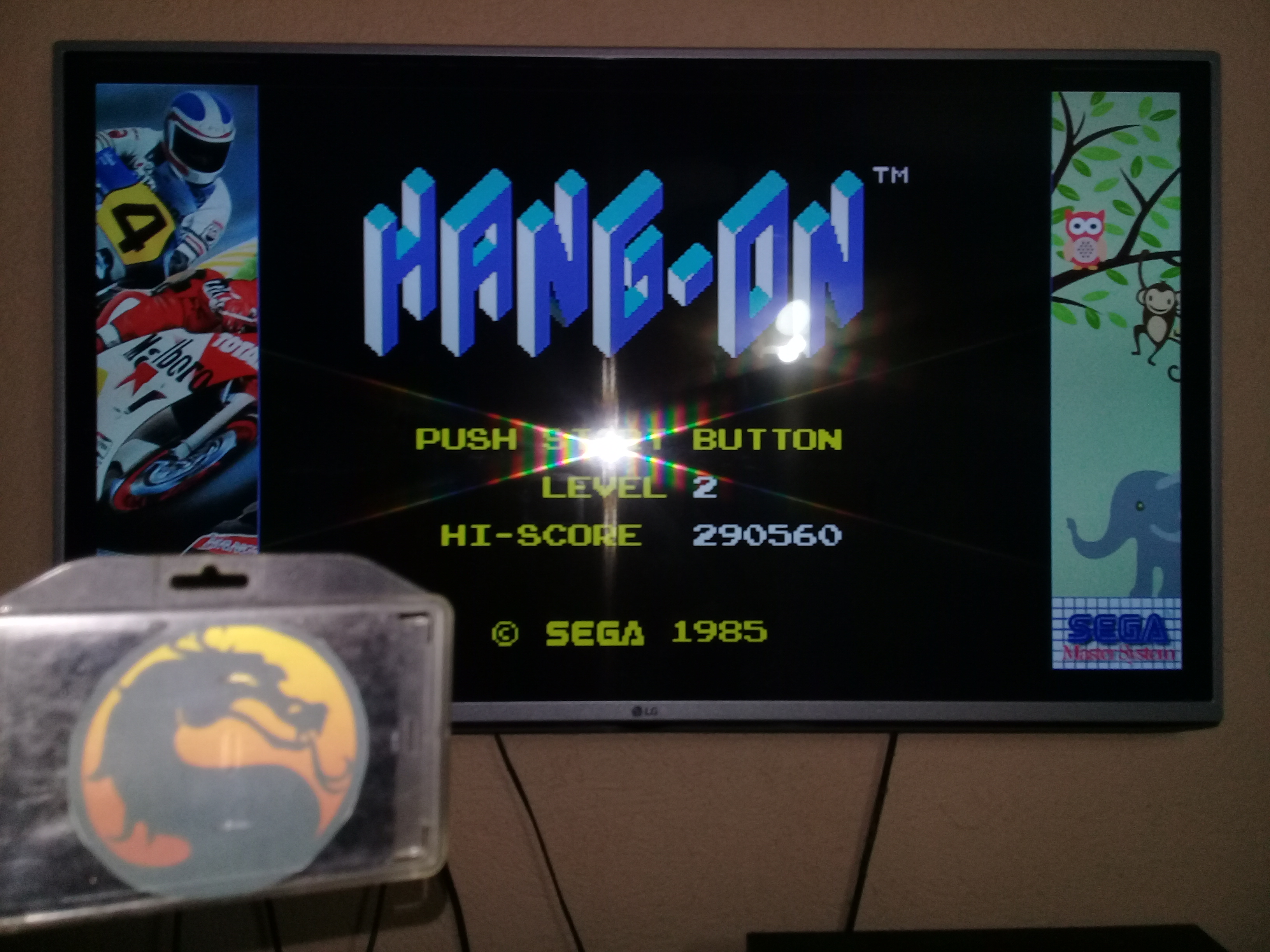 omargeddon: Hang On [Level 2] (Sega Master System Emulated) 290,560 points on 2020-07-03 22:26:02