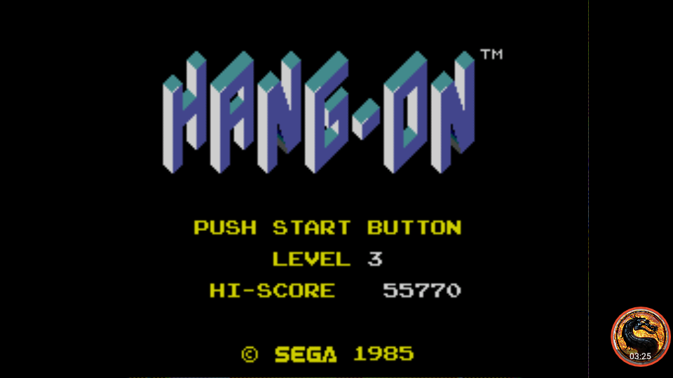 Hang On [Level 3] 55,770 points