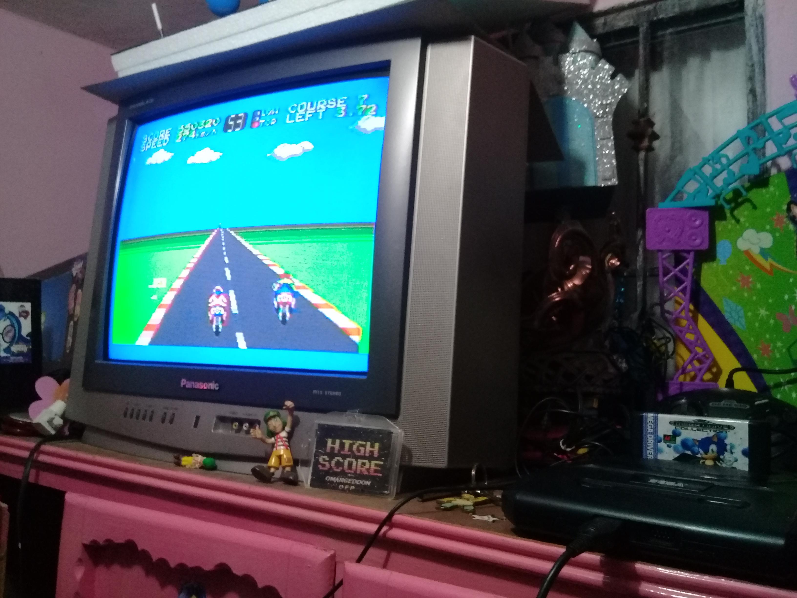 omargeddon: Hang On (Sega Master System) 550,320 points on 2018-12-31 13:40:06