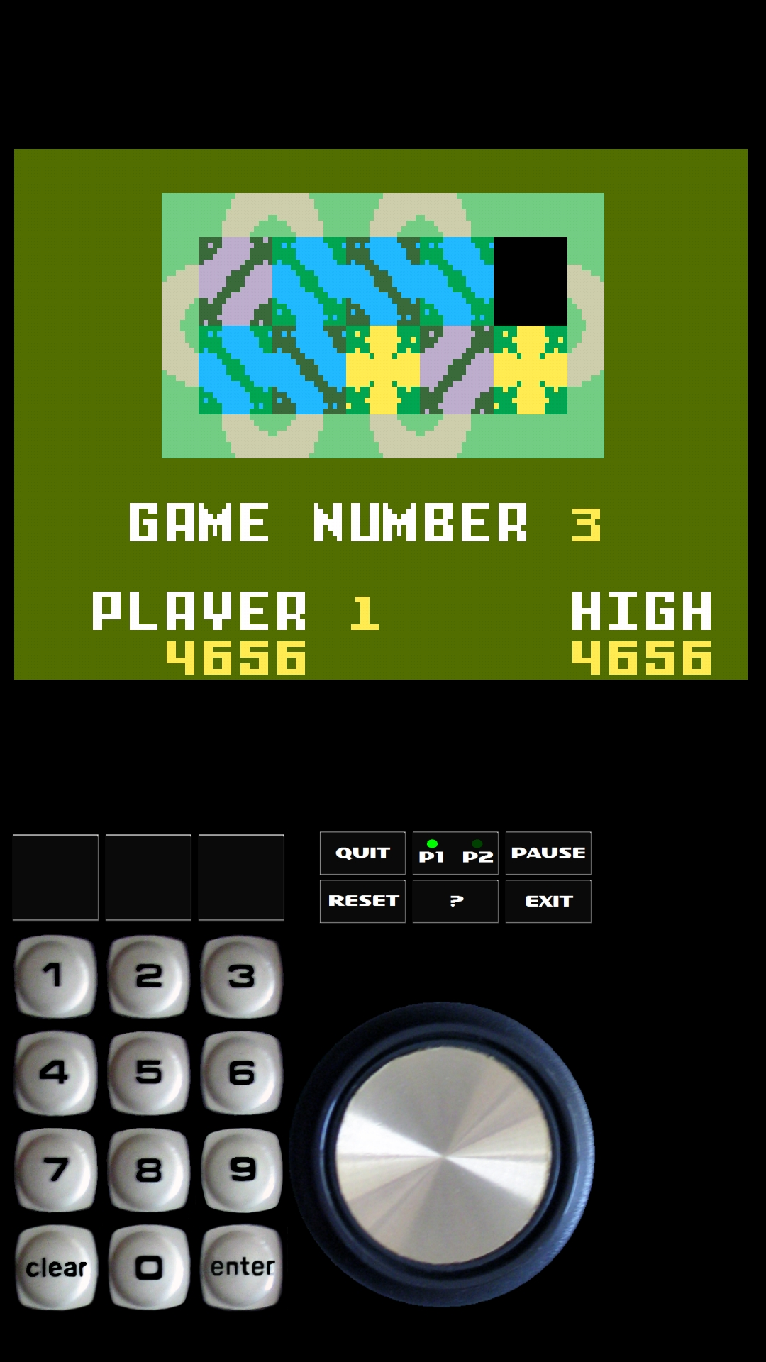 Bamse: Happy Trails: Skill 3 (Intellivision Emulated) 4,656 points on 2019-02-25 13:08:39