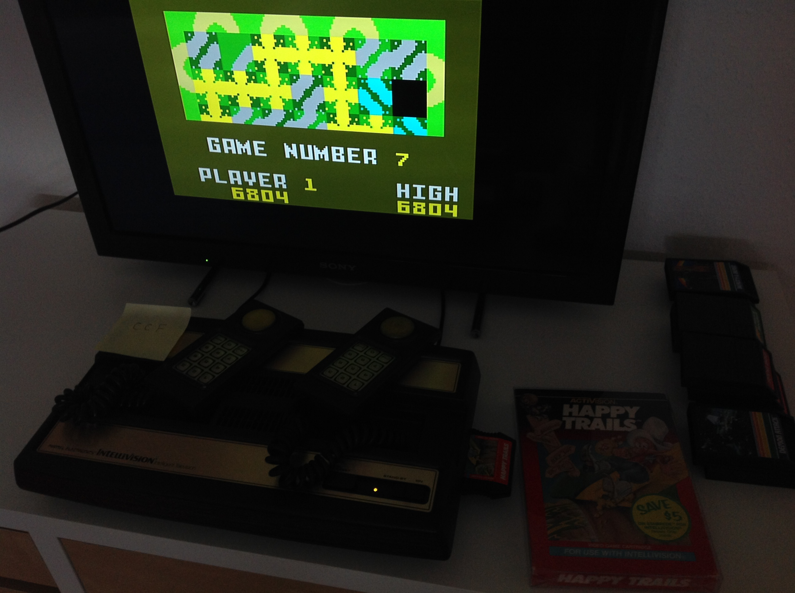 CoCoForest: Happy Trails: Skill 7 (Intellivision) 6,804 points on 2018-08-29 02:45:55