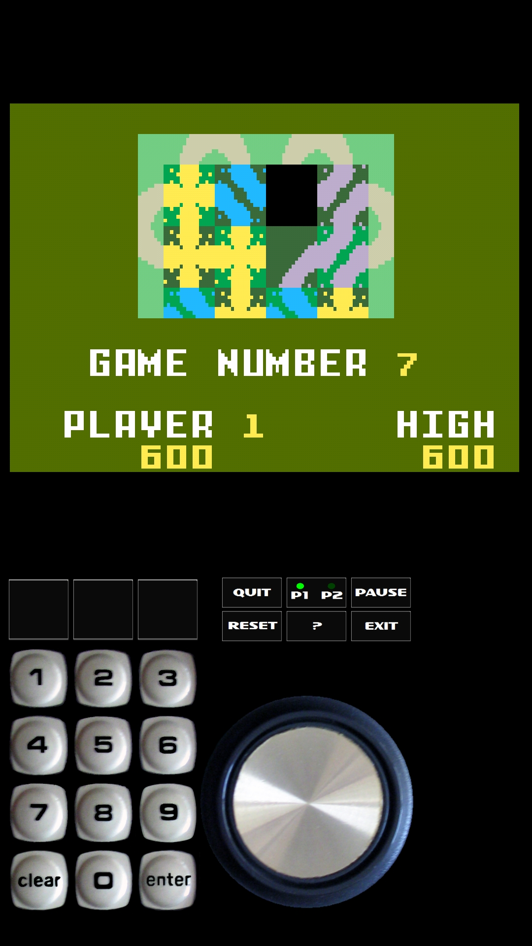 Bamse: Happy Trails: Skill 7 (Intellivision Emulated) 600 points on 2019-02-25 13:07:22