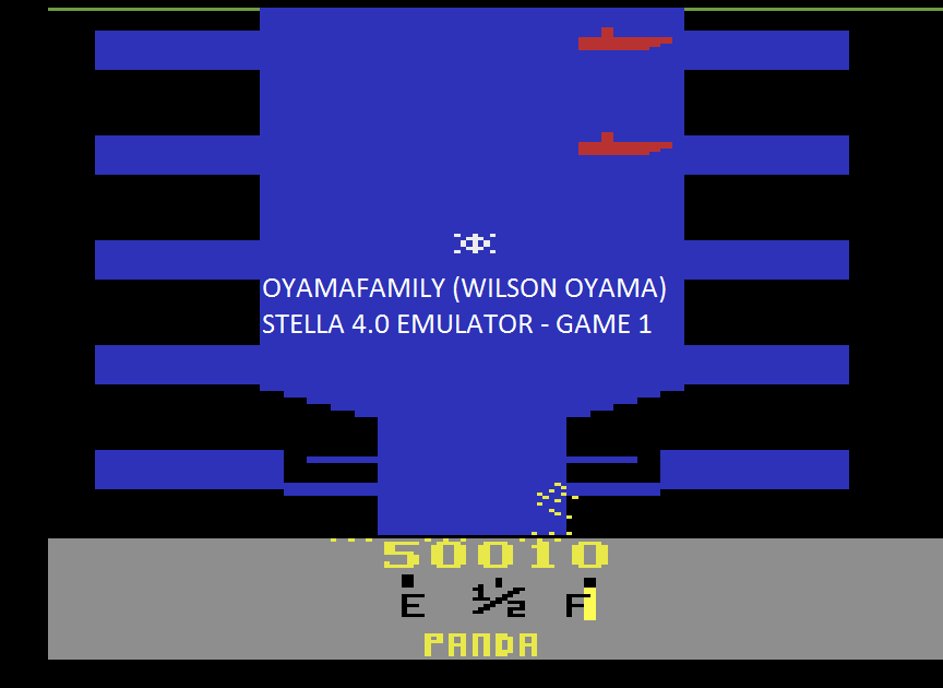 oyamafamily: Harbor Escape (Atari 2600 Emulated) 50,010 points on 2015-08-11 20:53:13