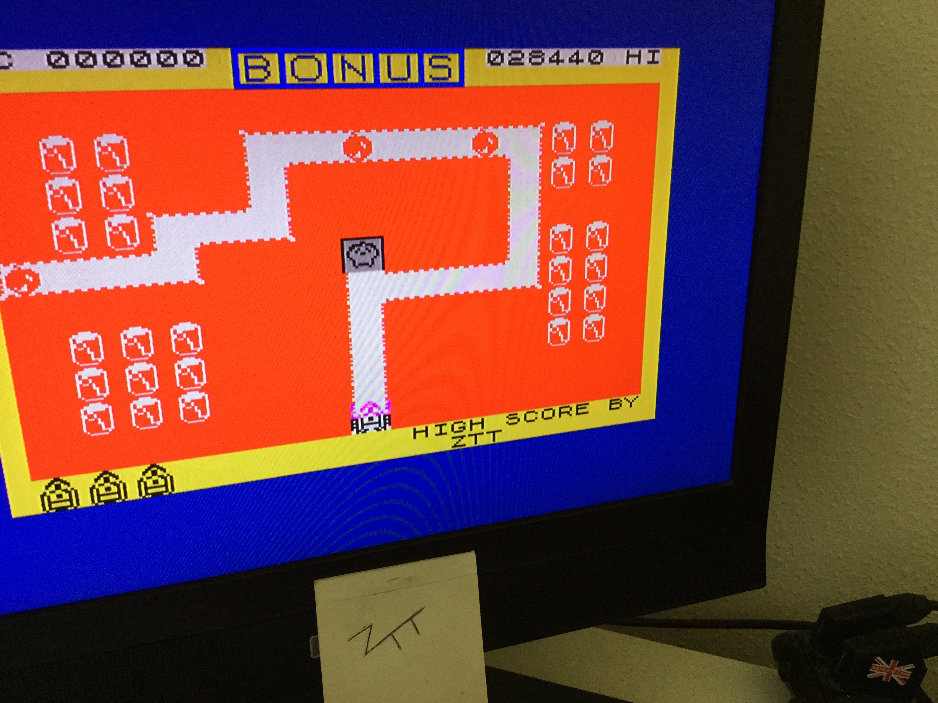Frankie: Hard Cheese (ZX Spectrum) 28,440 points on 2020-05-29 04:47:33