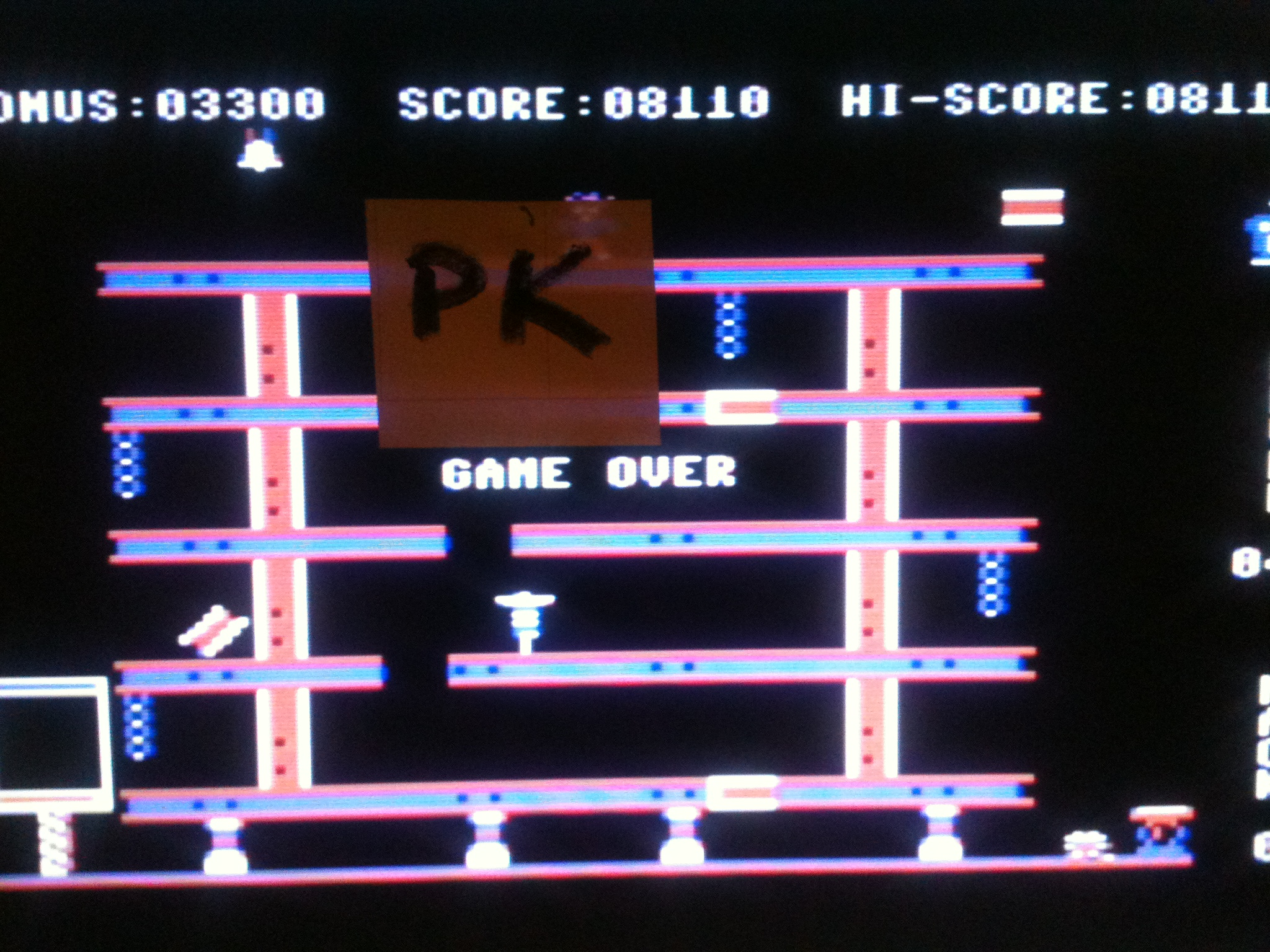 kernzy: Hard Hat Mack (Commodore 64 Emulated) 8,110 points on 2015-11-15 17:22:15