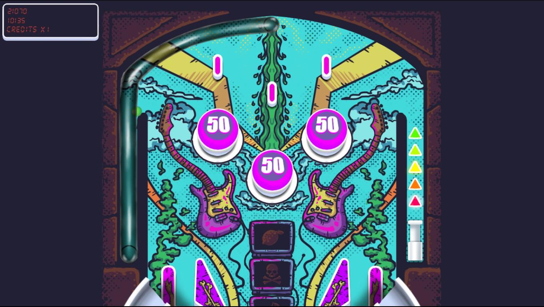 Hard Rock Pinball: Table 1 21,070 points