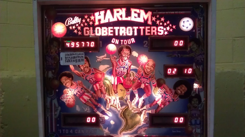 ichigokurosaki1991: Harlem Globetrotters On Tour (Pinball: 3 Balls) 495,770 points on 2016-04-08 10:02:54