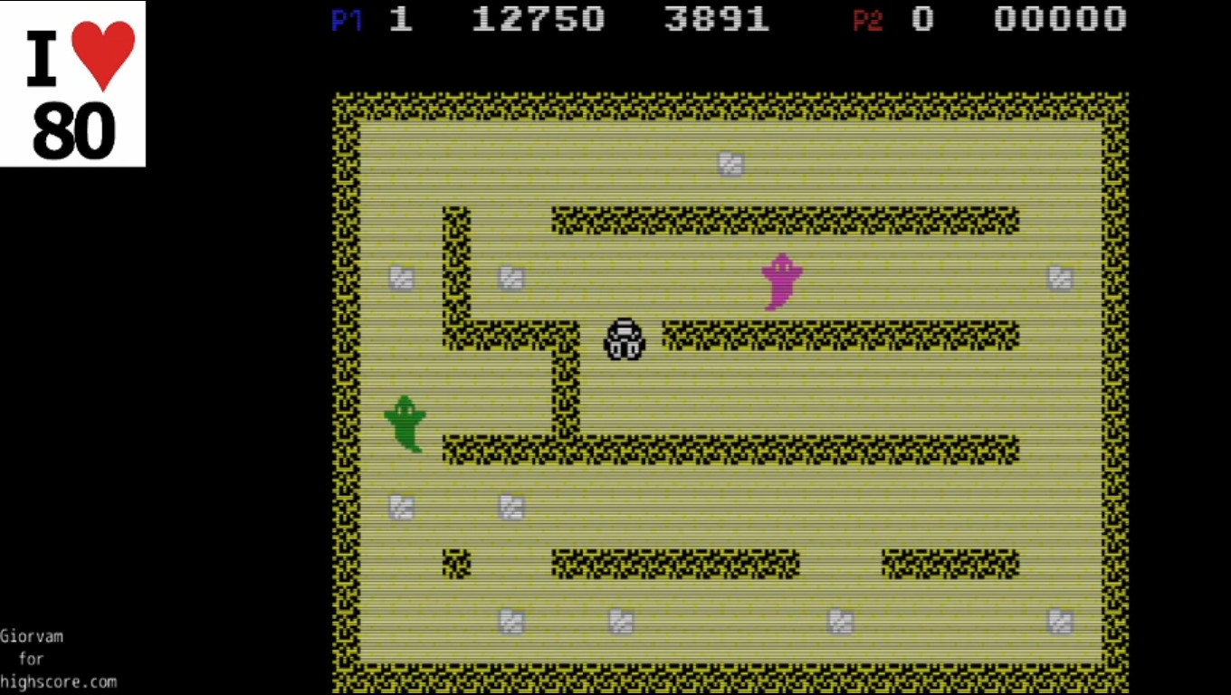 Giorvam: Haunted Caves (Colecovision Emulated) 12,750 points on 2019-12-16 15:47:34