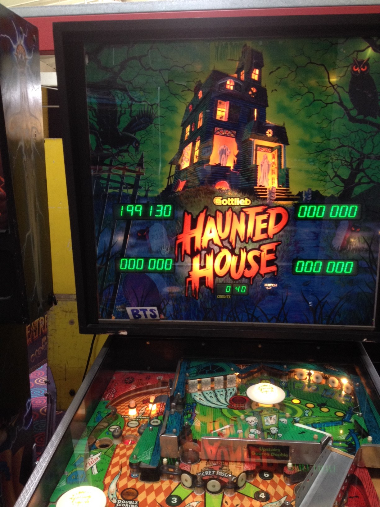 bensweeneyonbass: Haunted House (Pinball: 3 Balls) 199,130 points on 2016-03-21 08:59:39