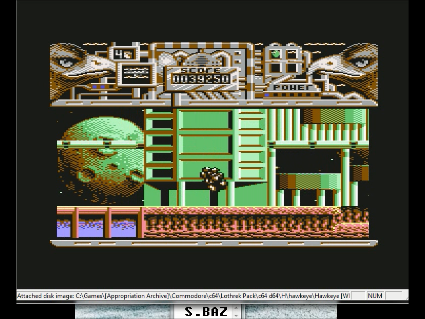 S.BAZ: Hawkeye (Commodore 64 Emulated) 39,250 points on 2016-05-29 14:01:34