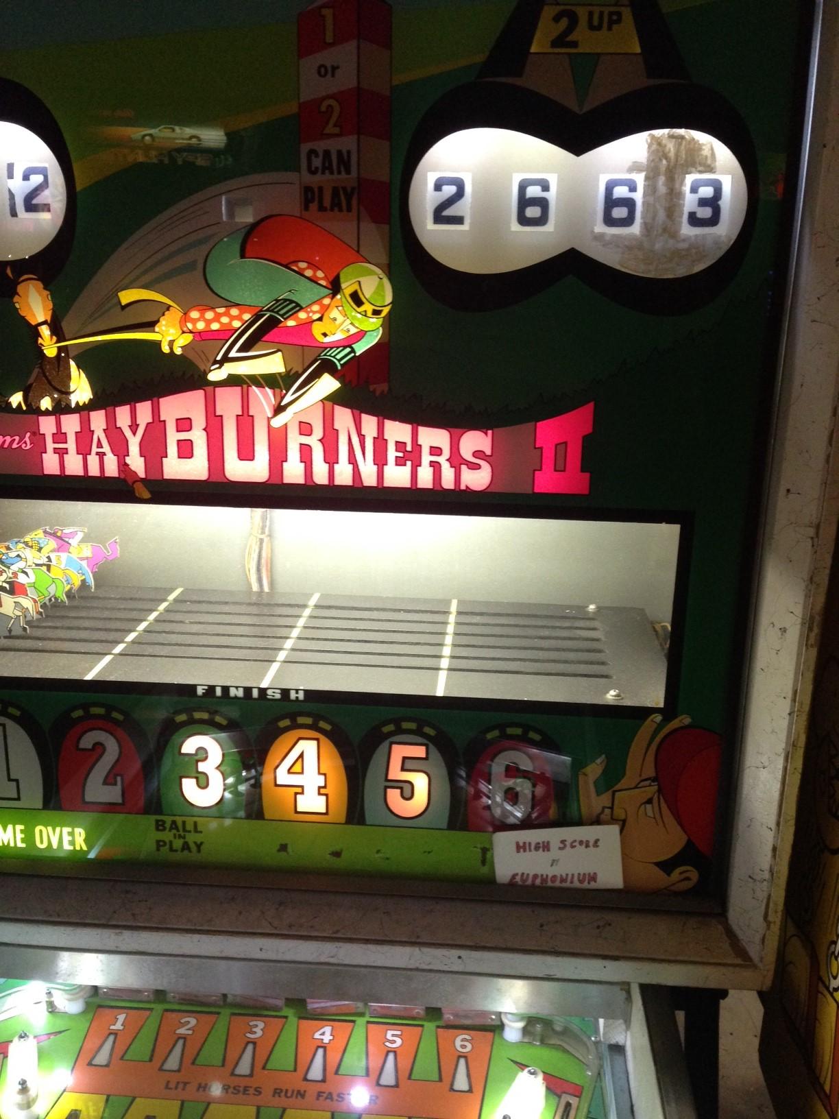euphonium: Hayburners II (Pinball: 5 Balls) 2,663 points on 2017-04-13 23:00:03