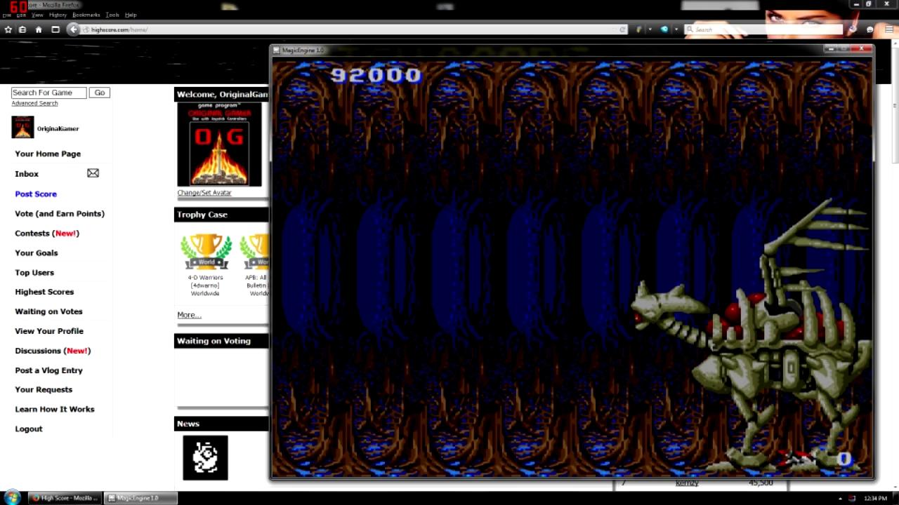 OriginalGamer: Heavy Unit (TurboGrafx-16/PC Engine Emulated) 92,000 points on 2015-08-12 21:29:47