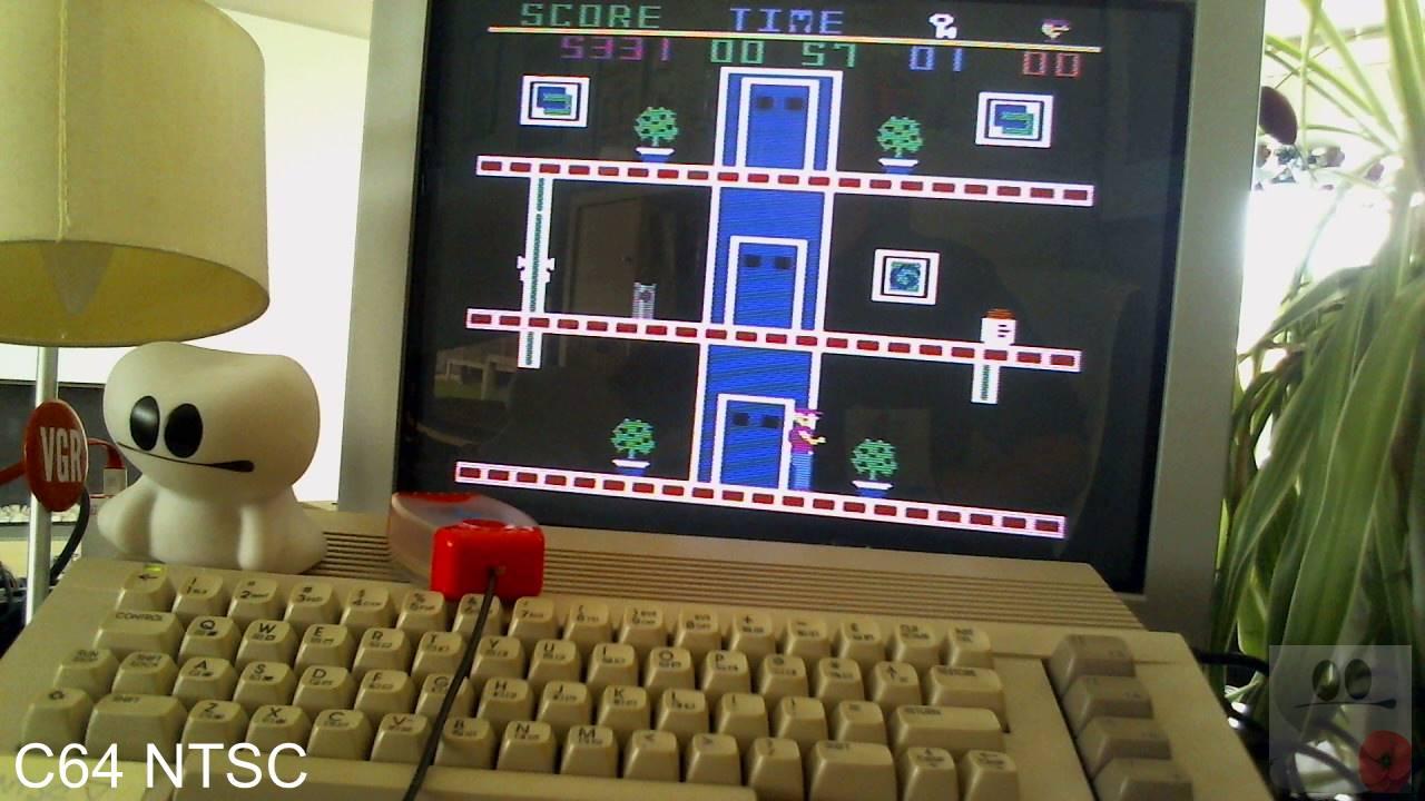 GTibel: Heist (Commodore 64) 5,331 points on 2020-04-18 08:46:41