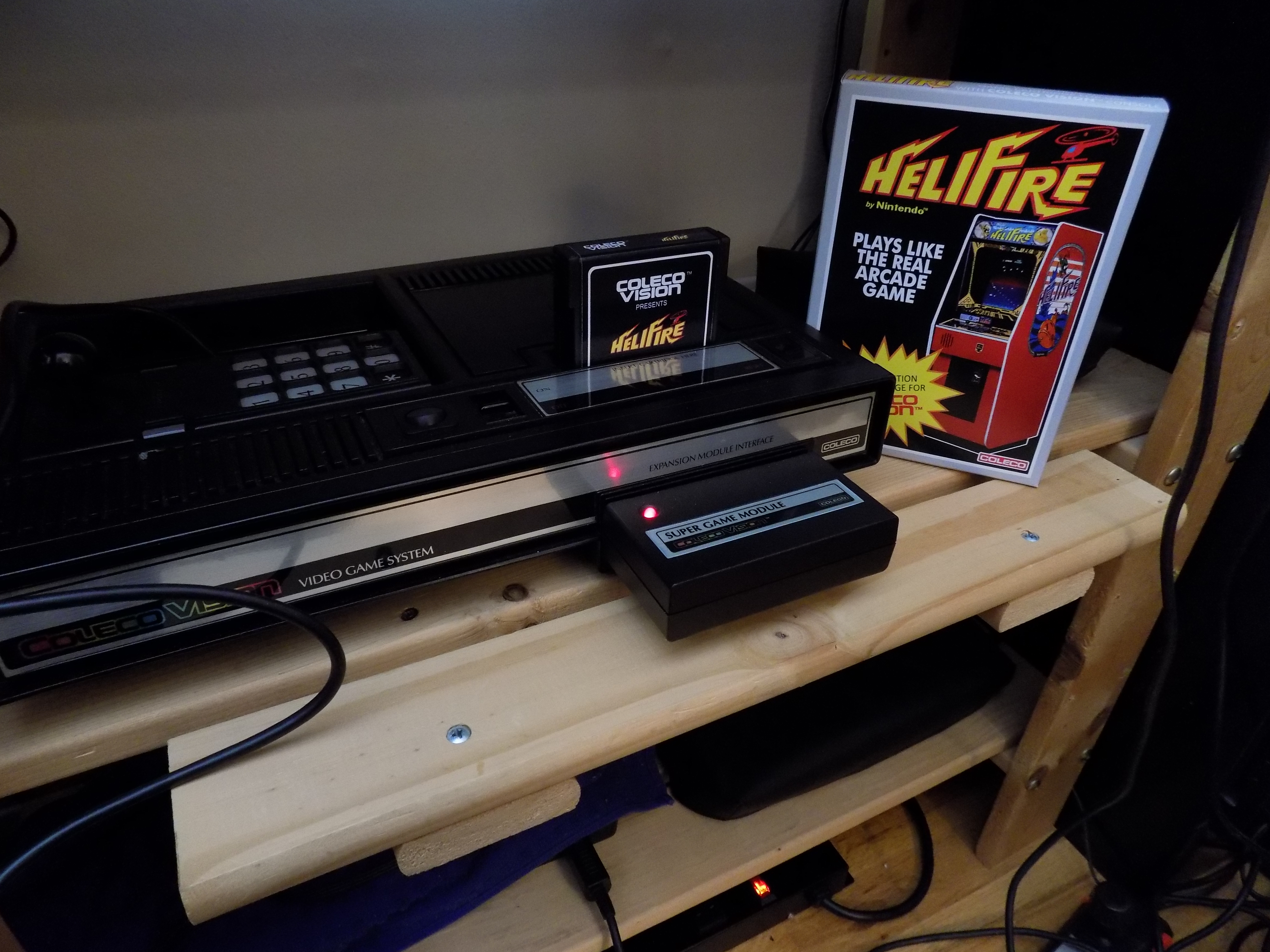 darrin9999: Helifire (Colecovision) 129 points on 2017-07-28 18:19:54