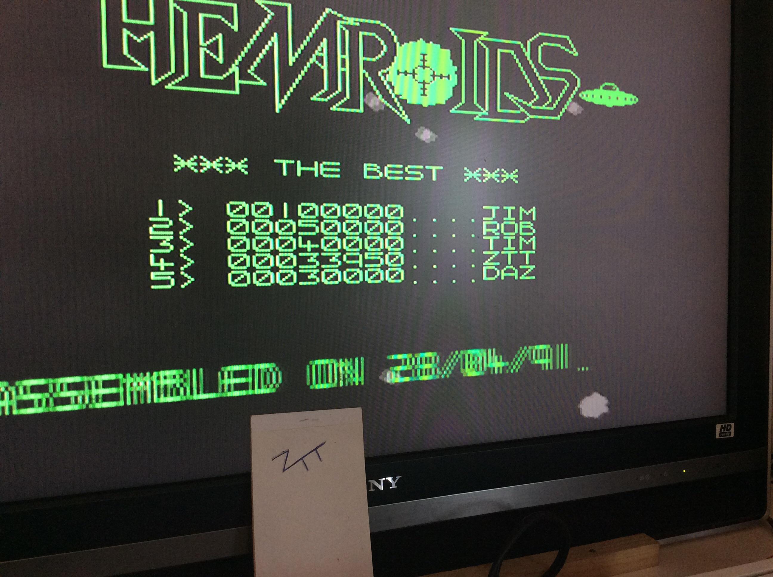 Frankie: Hemroids (Amiga) 33,950 points on 2016-08-11 12:27:04