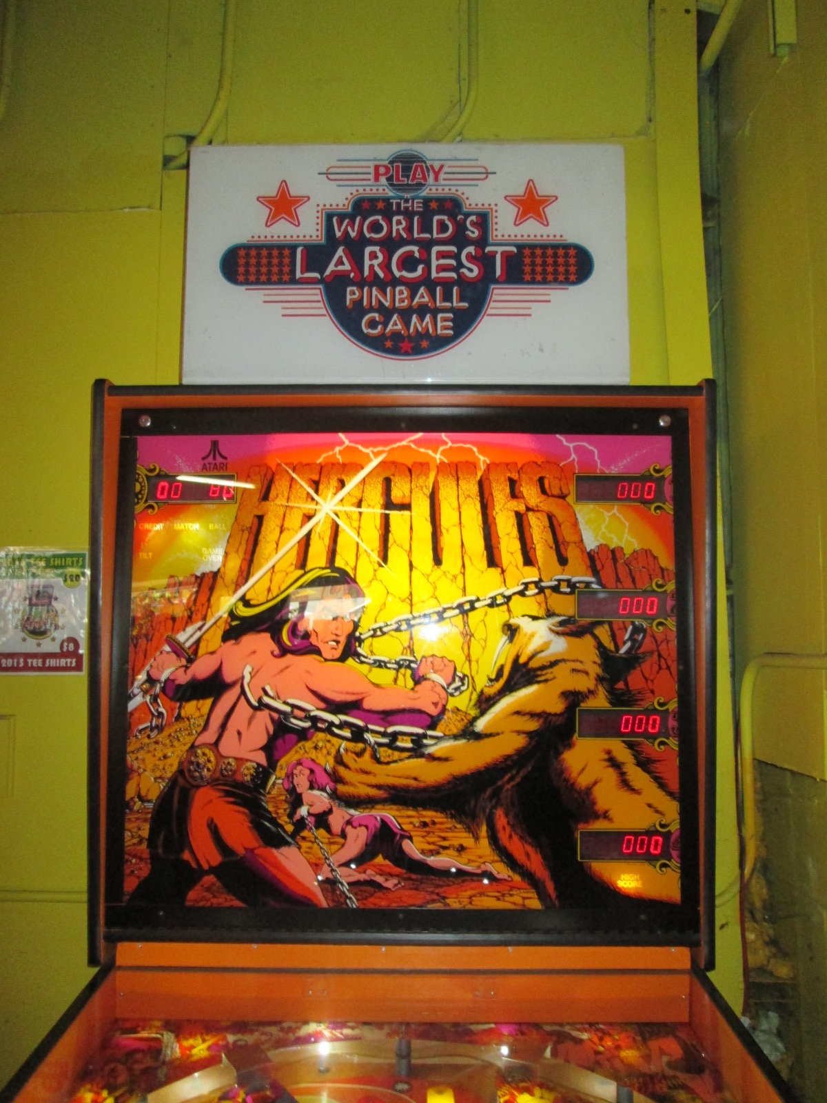 ed1475: Hercules (Pinball: 3 Balls) 131,710 points on 2016-08-25 19:43:15