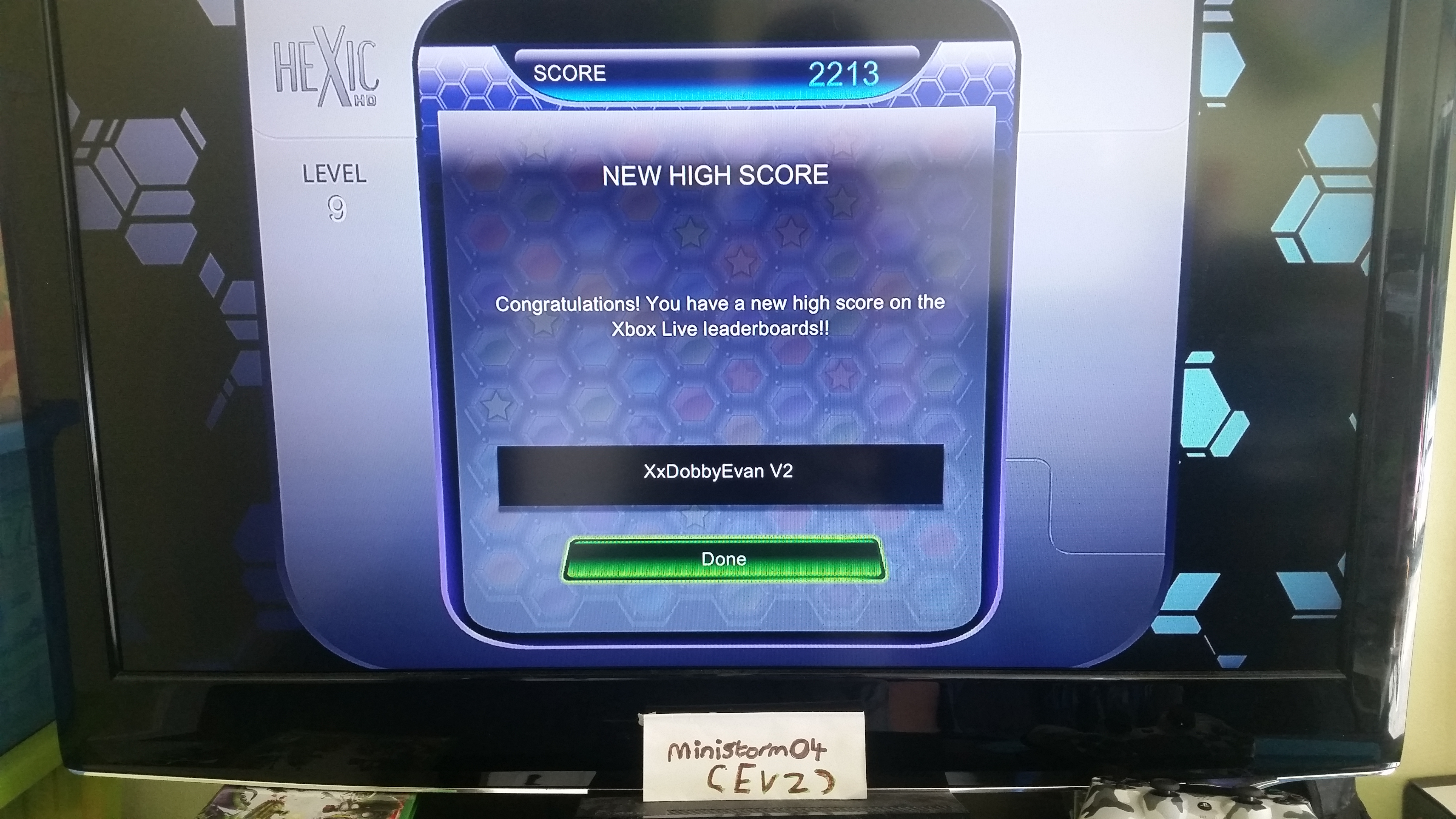 Hexic HD: Survival Mode [Hard] 2,213 points