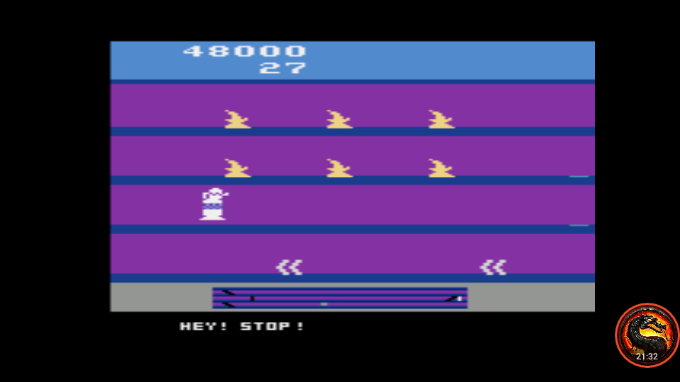 omargeddon: Hey! Stop! (Atari 2600 Emulated Expert/A Mode) 48,000 points on 2020-04-10 00:49:57
