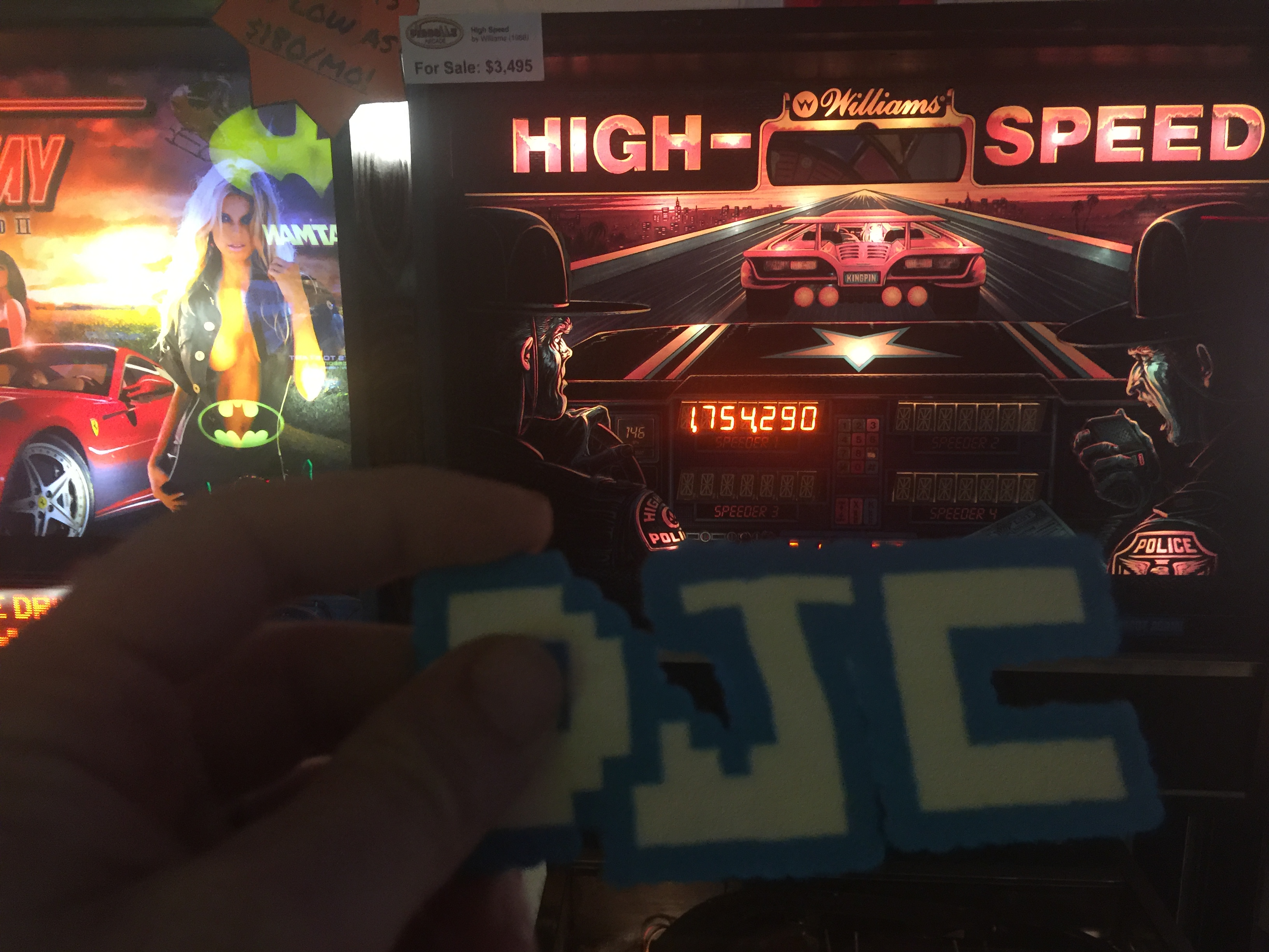 High Speed 1,754,290 points