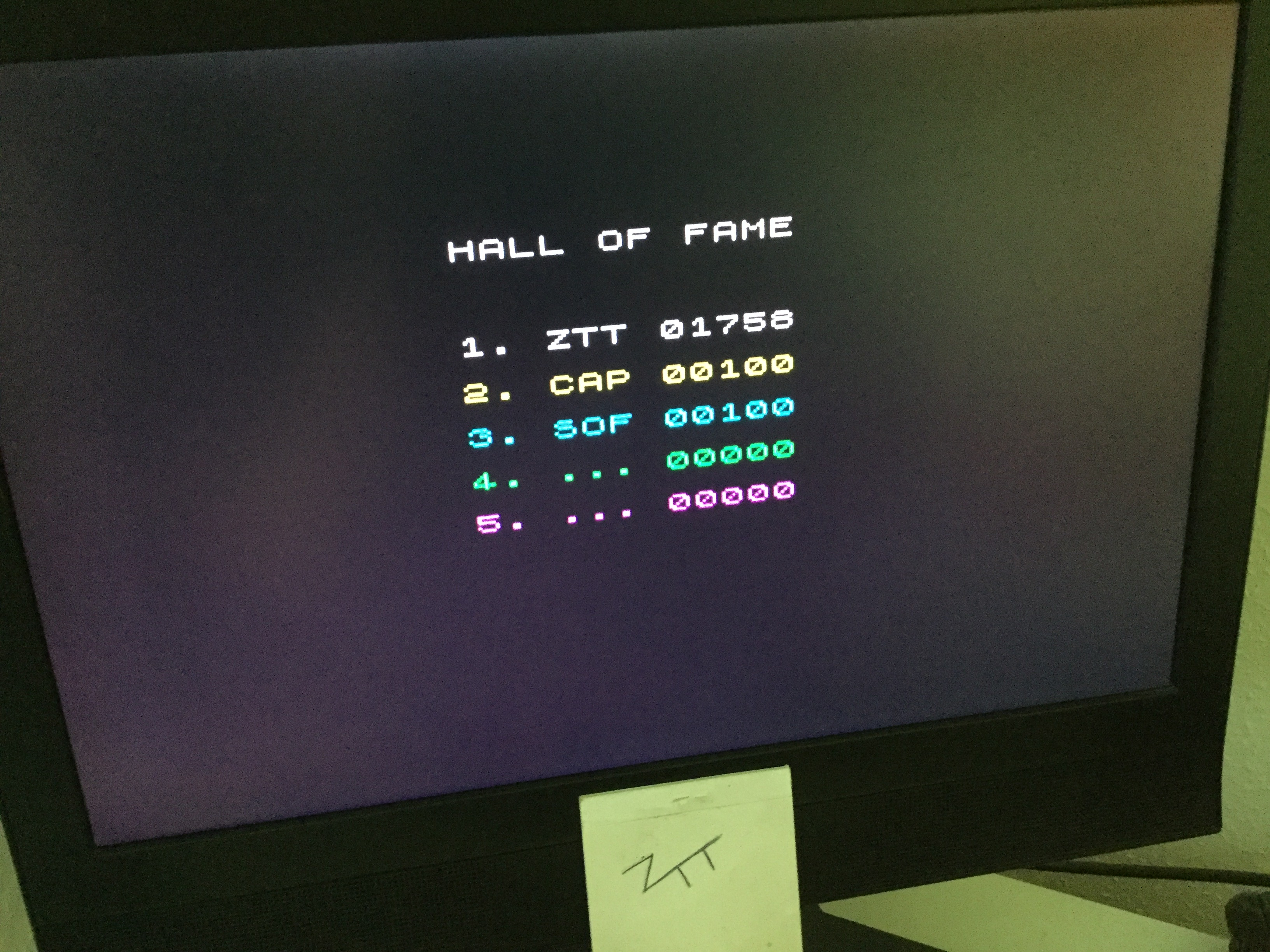 Frankie: Hive [Capsoft & Softy] (ZX Spectrum) 1,758 points on 2020-06-26 06:15:08