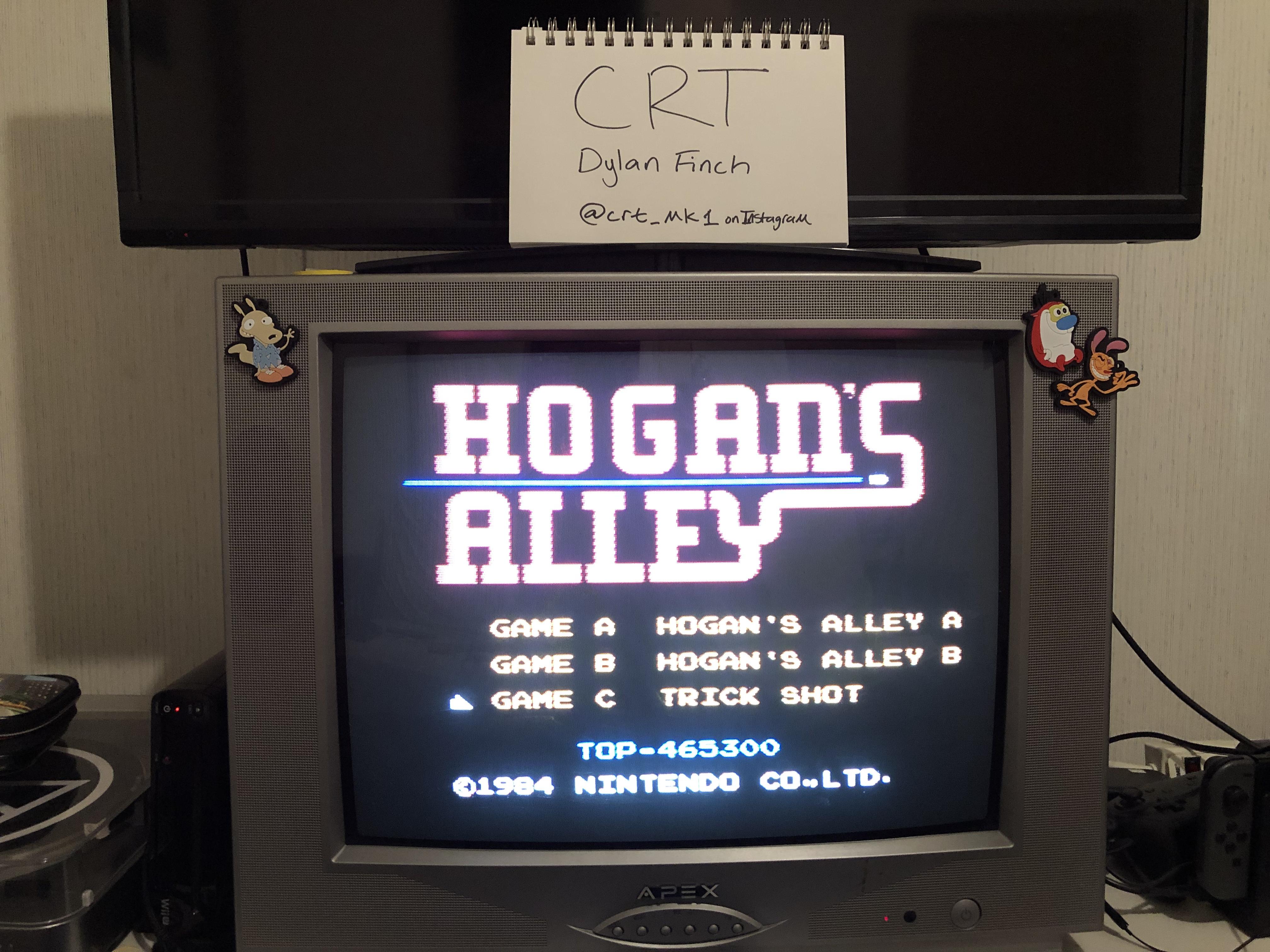 CRT: Hogan