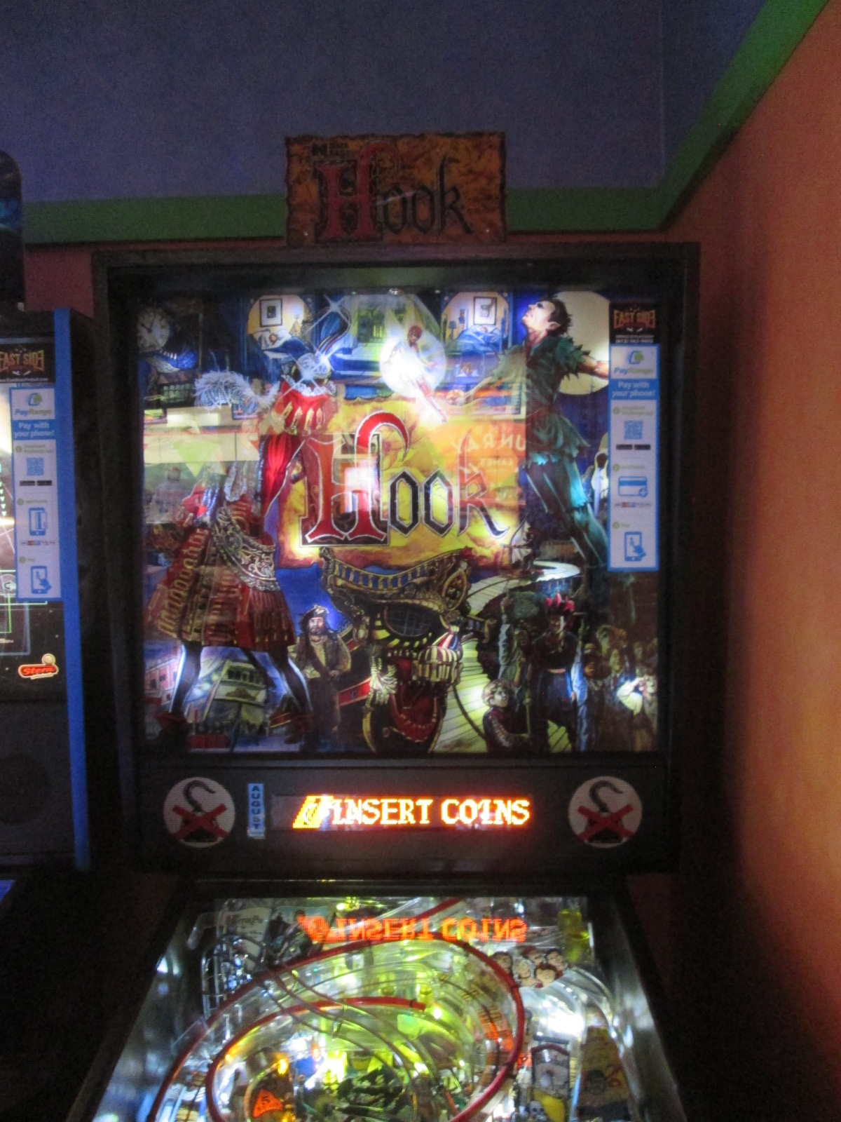 ed1475: Hook (Pinball: 3 Balls) 44,344,370 points on 2016-10-09 19:43:55